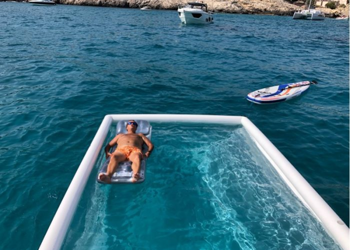 Floating siesta Mallorca
